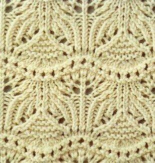 Подборка красивых узоров для вязания спицами