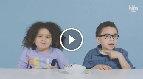 """Американские дети пробуют русскую еду: """"Я не могу поверить, что она это съела"""""""