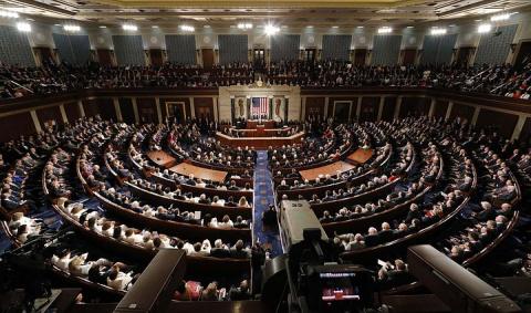 Нижняя палата Конгресса одобрила временное финансирование правительства