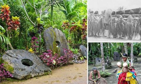 Камни Раи - огромные каменны…