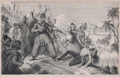 Истребление англичан. 1842 год.