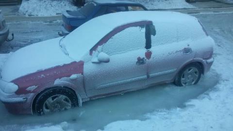 Автомобиль спасет только потепление