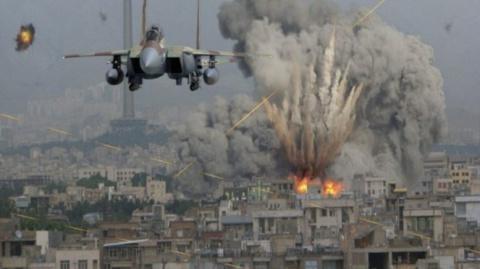 ВКС России вбивают в землю боевиков, сбивших вертолет Ми-8