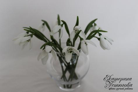 Цветы из полимерной глины Екатерины Устюговой