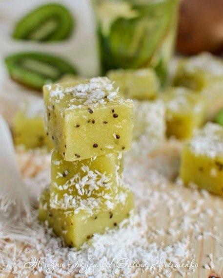 Мармелад из киви с бананом