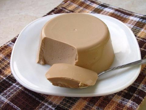 Творожное суфле с какао на 100 грамм - ккал