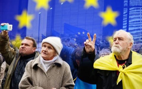 Украинским беженцам на Украине помогут немцы и датчане