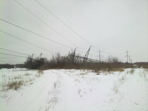 Украинцы обесточили Горловку…