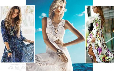 Длинные летние платья: 15 бесподобных идей для лета