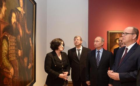 Владимир Путин и Князь Монак…