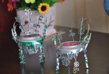 Декоративные стульчики из же…
