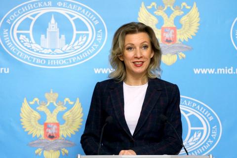 Захарова перевела обращение Столтенберга к Трампу на язык «реальной политики»