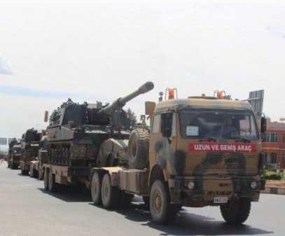 Турецкий спецназ и колонны б…