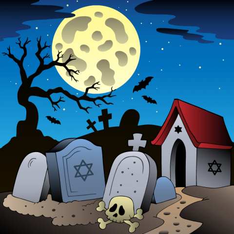 Одесское кладбище. Между могилок гуляют трое старичков иделятся своими мнениями насчёт соседей…