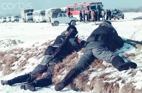 """""""38 снайперов Ельцина"""", январь 1996 года"""