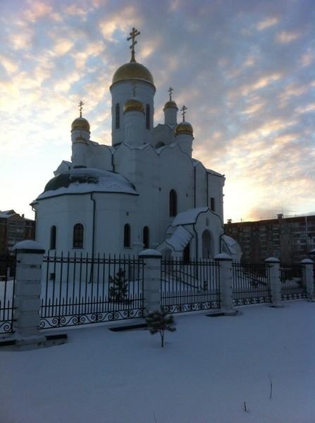 Храм Серафима Саровского г. Тюмень