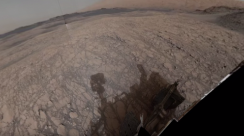 Марсоход НАСА сделал панорам…