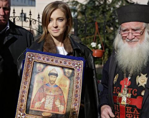 """Поклонская считает, что  фильм """"Матильда"""" это  нападки на Донбасс."""