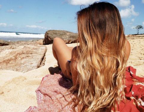 Морская соль - простое и доступное средство для роскошных волос