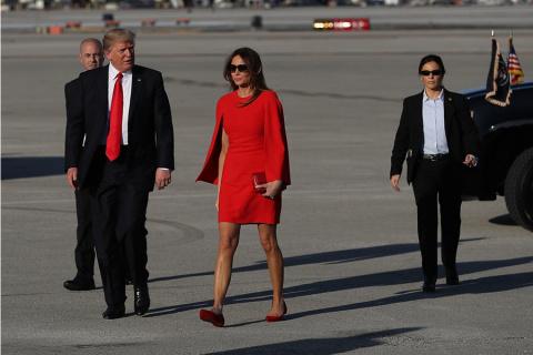 Мелания Трамп уже не торт? Модное преступление первой леди США