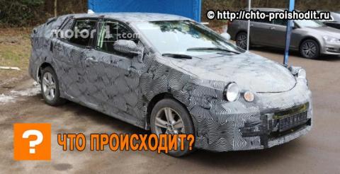 Новая Toyota Avensis замечен…