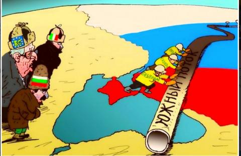 НА ПОРОГЕ ГАЗОВОЙ ВОЙНЫ [Украина, Европа и российский газ]