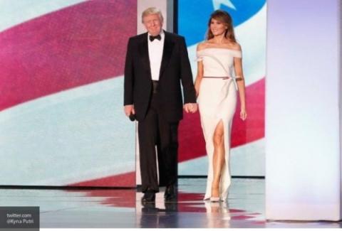 Меланья Трамп подарила музею Американской истории платье с инаугурации