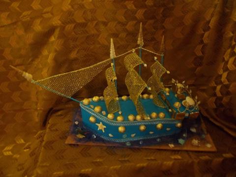 Кораблик с мужским характером