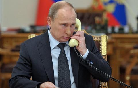 Путин обсудил ситуацию на Украине с лидерами стран «нормандской четверки»