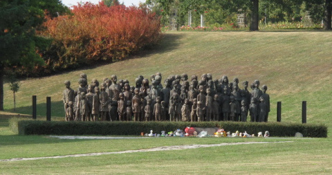 Мемориал детским жертвам вой…