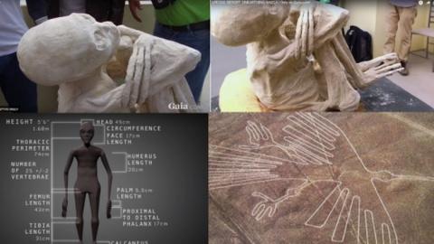 В Перу найдена мумия инопланетянина
