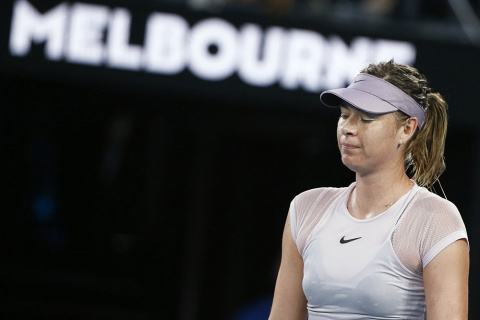 Мария Шарапова вылетела с Australian Open