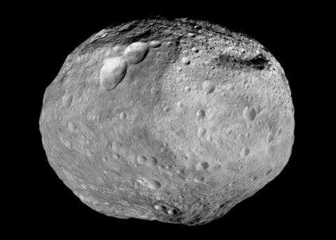 Зонд Dawn нашел лед на астероиде Веста
