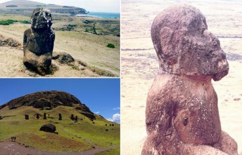 Тайны острова Пасхи: сидящий…