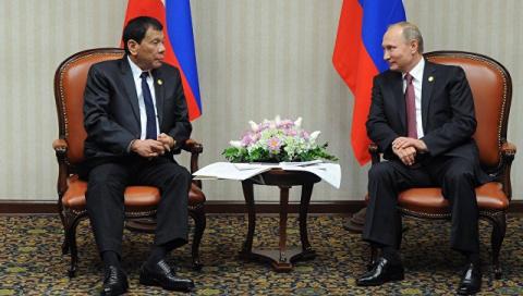 Дутерте хочет убедить Путина, чтобы Россия поставляла Филиппинам оружие