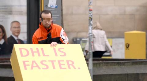 Как DHL над конкурентами издевался
