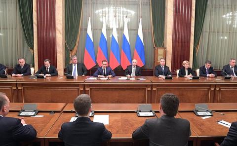 Встреча с членами Правительства -/- НОВОСТИ НЕДЕЛИ