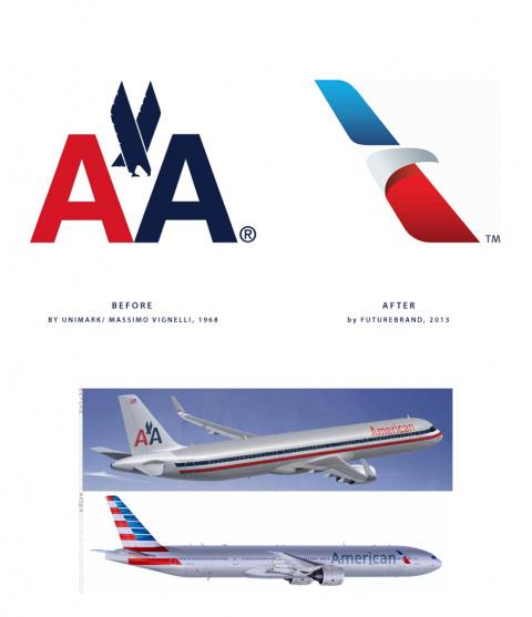 Авиакомпания American Airlines представила новую ливрею и логотип