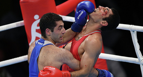 Новосибирского боксера Мишу …