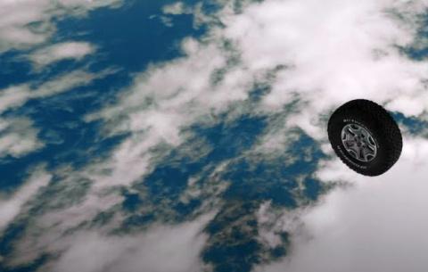 Летающая шина