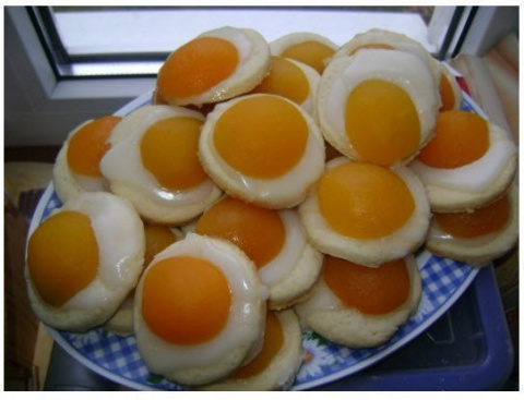 Печенье с абрикосом