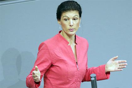 Лидер оппозиции в бундестаге…