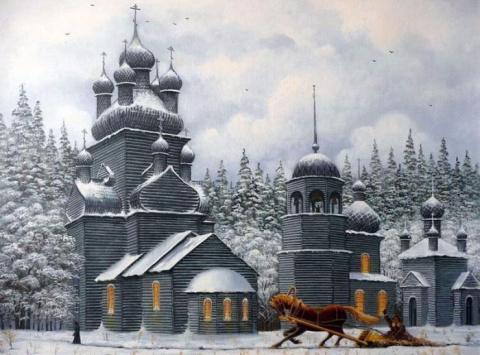 Творчество современного художника Владимира Маркова