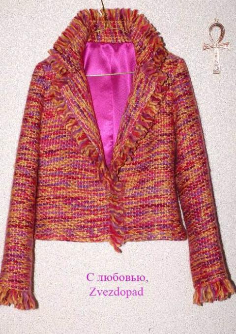 Ленточное плетение. Очень необычный МК