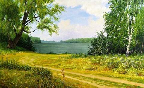 Русские пейзажи художника Николая Киселева
