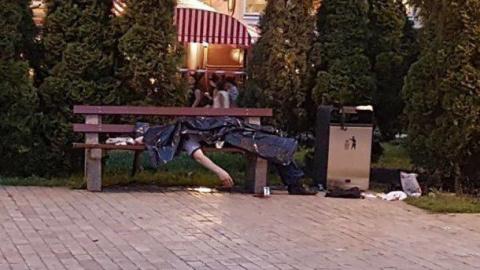 В центре Киева зарезан видный боевик АТО