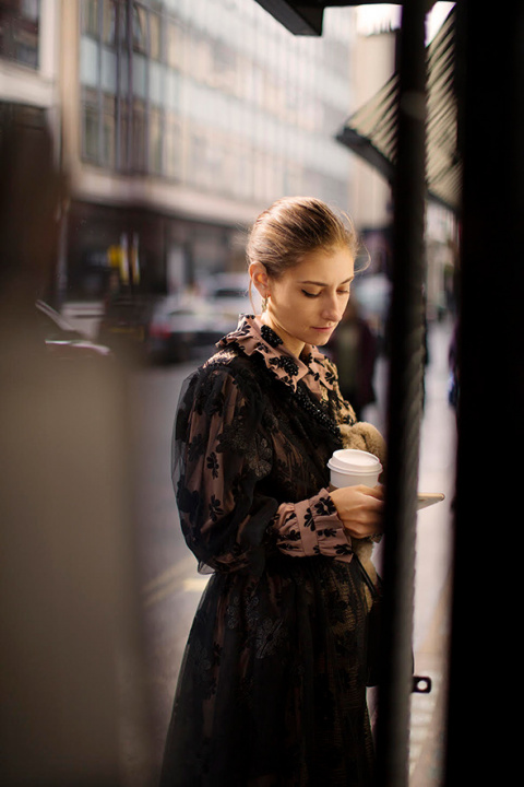 On the Street…Wardour St., London