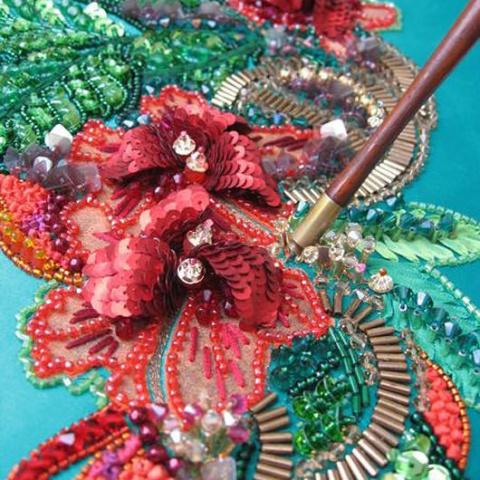 Люневильский крючок и прочие секреты люневильской вышивки