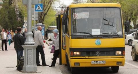 Севастопольские маршрутки ож…