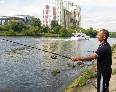 Осенняя ловля на канале Москва — Волга